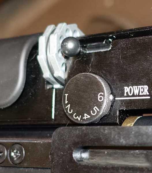 Hatsan Gladius power adjuster