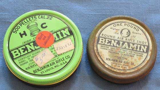 Benjamin tins