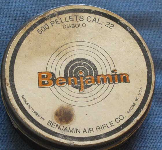 alternate Benjamin tin