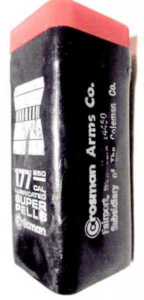 Crosman ashcan pellet box