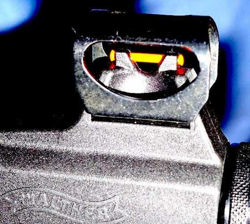 Walther Parrus front sight