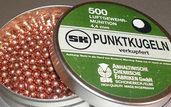 Quackenbush Number 7 4.4mm balls
