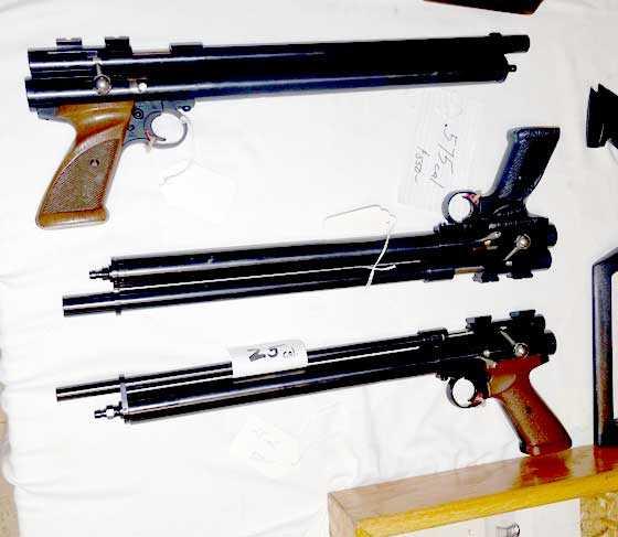 Quackenbush pistols