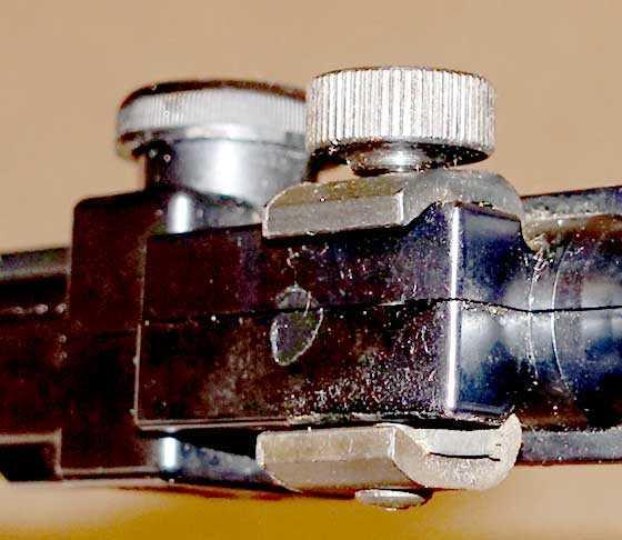 BSA Meteor scope clamp