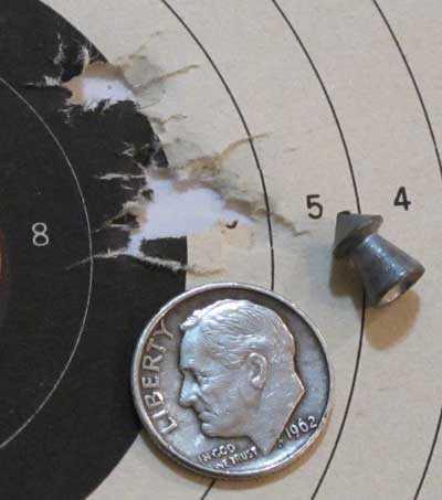 BSA Meteor Superpoint target