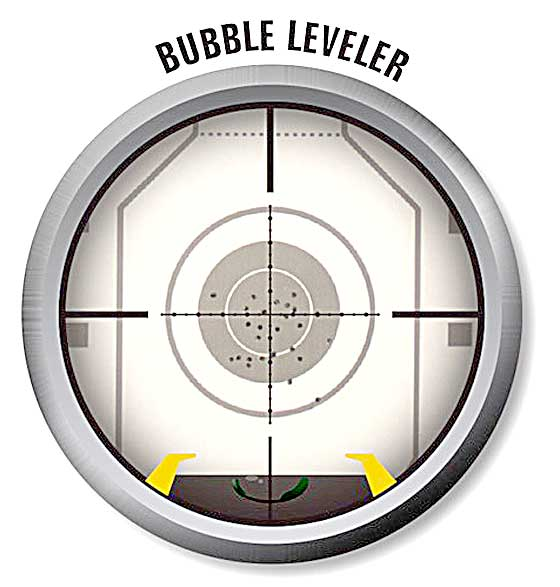 UTG Bubble Leveler scope reticle