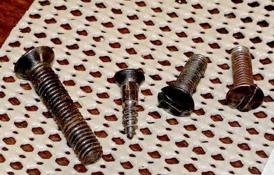 Mauser 300SL screws