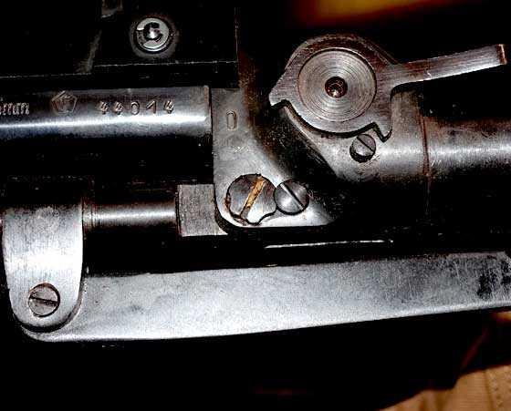 Mauser 300SL underlever screws