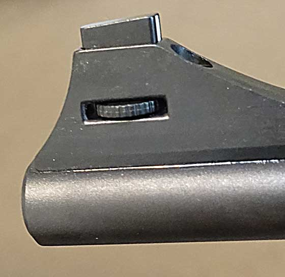 Diana AR-8 front sight