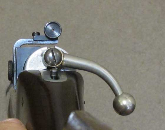 Sheridan Supergrade rear sight