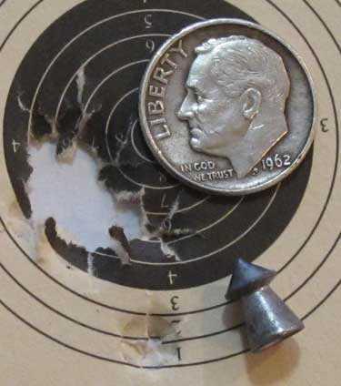 BSA Meteor Supewrpoint target
