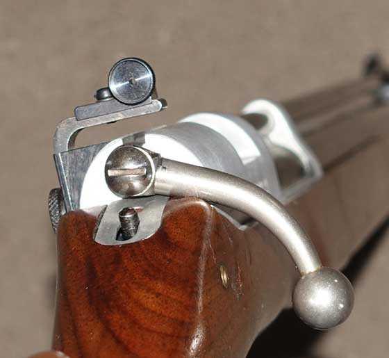 Sheridan Supergrade bolt handle