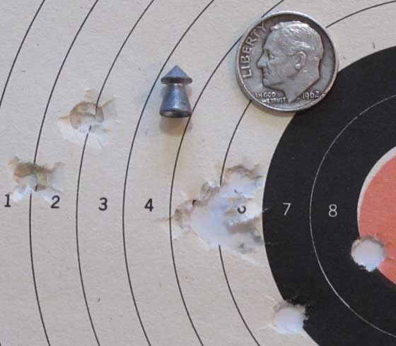 Diana K98 Superpoint group 25 yards