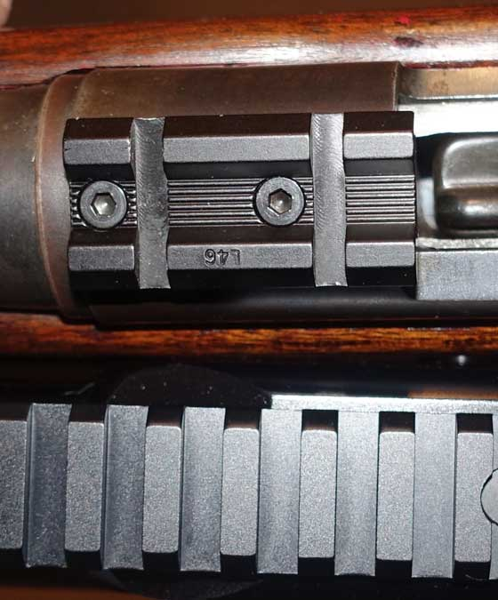 Throttle Weaver Picatinney base