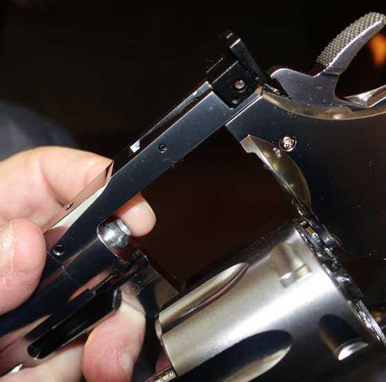 Dan Wesson pellet revolver barrel 1