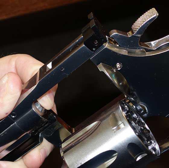 Dan Wesson pellet revolver barrel 2