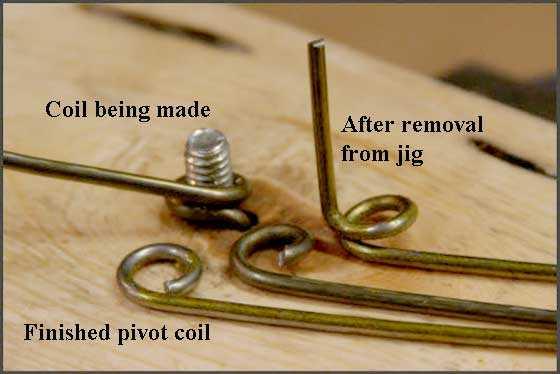 pivot coil detail