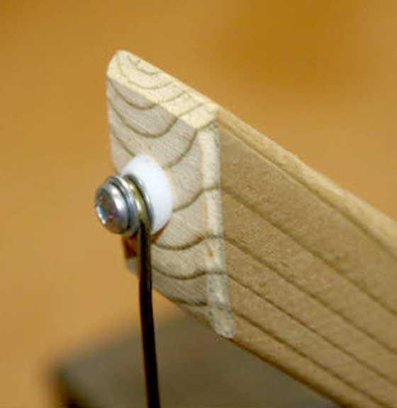 pivot mounting detail