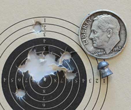 Benjamin Wildfire composite target