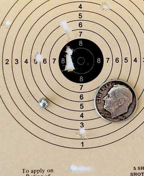Daisy 179 target
