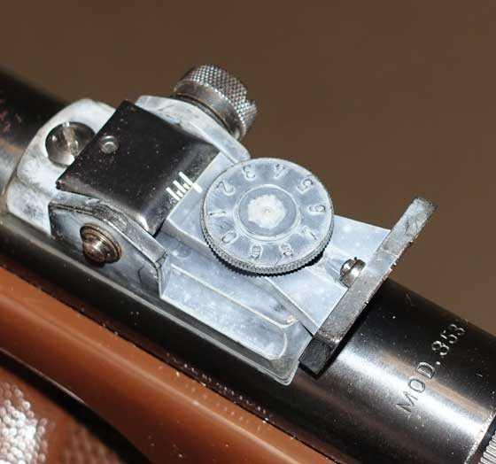 Diana model 5 rear sight
