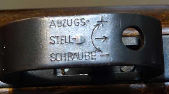 BSF S70 trigger adjustments