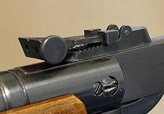 BSF S70 rear sight