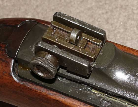 U.S. Carbine rear sight