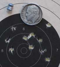 Diana 240 25 yards RS group