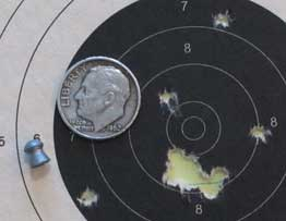 Diana 240 25 yards Falcon group