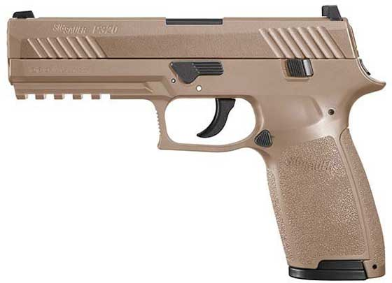 Sig P320 pistol