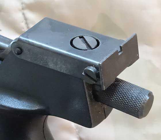 Lov 21 rear sight