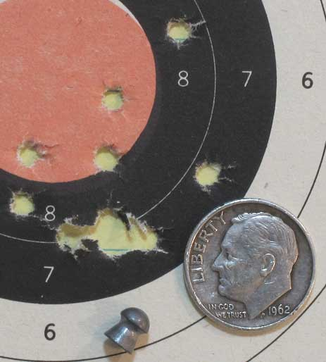 FWB 124 Premier lite target