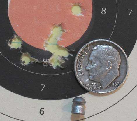 FWB 124 JSB RS target