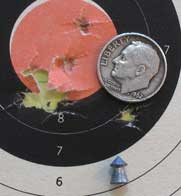 Diana 240 Classic Superpoint target