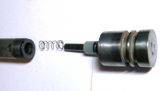 Crosman V-300 BB pistol valve 1
