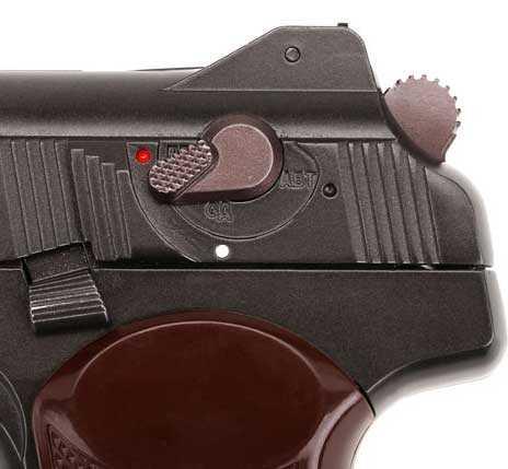 Gletcher Stechkin APS BB pistol selector