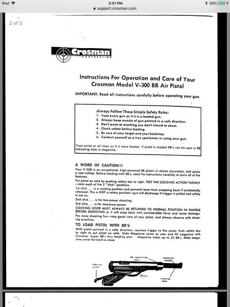 Crosman's V-300 BB pistol: Part 1 | Air gun blog - Pyramyd Air Report