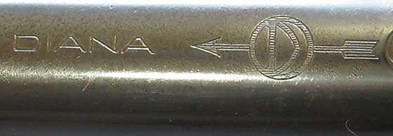 Diana 5V pistol trqdemark