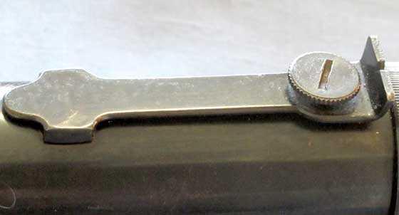 Diana 5V pistol rear sight