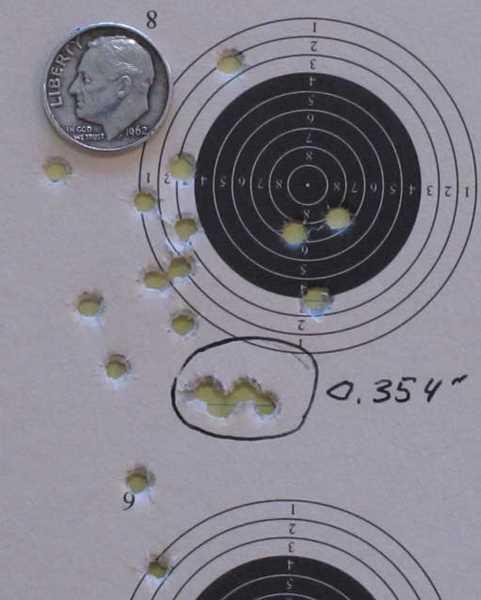 best 5 of 20 shots