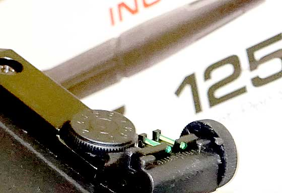 Forge rear sight
