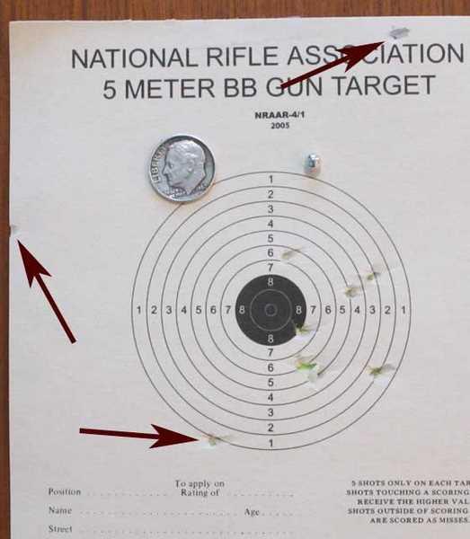 Gletcher Stechkin pistol Daisy target