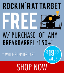 Free at check out with and $150+ Breakbarrel