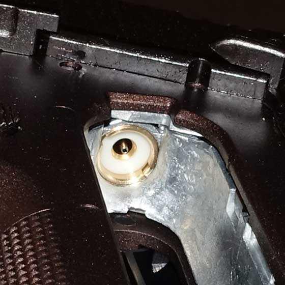 Sig Spartan BB pistol piercing pin
