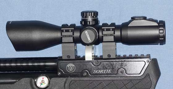 UTG scope and mounts