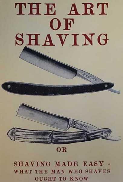 shaving book