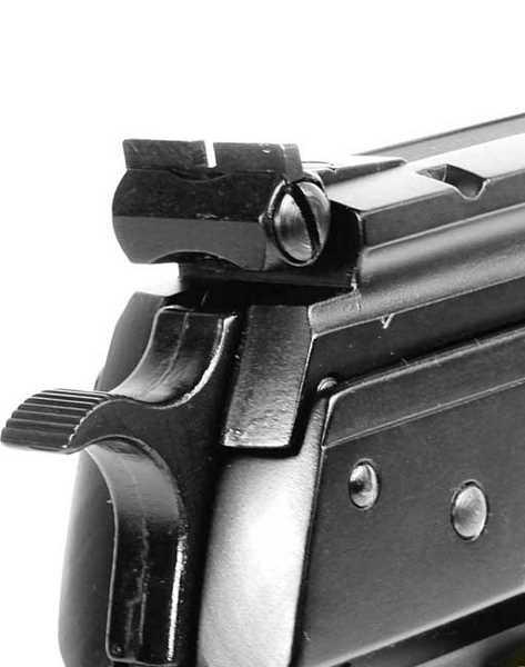 Beeman P1 rear sight