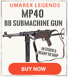 Weathered Legends MP40 BB Submachine Gun