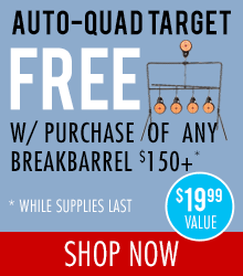 Free Auto-Quad Target with Purchase